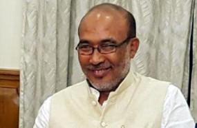 मणिपुर के मुख्यमंत्री बीरेन सिंह कोरोना पॉजिटिव