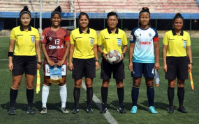 पुरुष आई-लीग के मैचों में महिला हो सकती हैं रेफरी : एआईएफएफ निदेशक