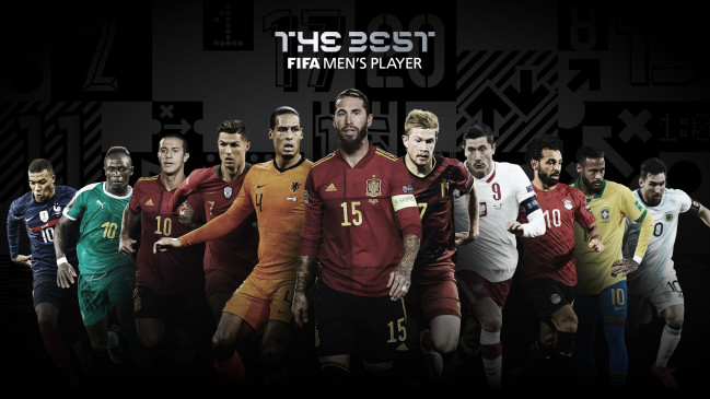 मेसी, रोनाल्डो और सालाह फीफा बेस्ट अवॉर्ड्स-2020 के लिए नामित