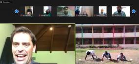 मुंबई सिटी के फुटबालरों ने स्पेशल एथलीटों के साथ मनाया चिल्ड्रेंस डे