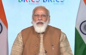 PM at BRICS Meet: ब्रिक्स सम्मेलन में पीएम मोदी ने कहा- आतंक को मदद देने वाले देशों को भी ठहराया जाए दोषी