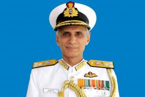 नौसेना प्रमुख ने निकोबार में नौसेना वायु स्टेशन पर तैयारियों की समीक्षा की