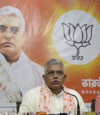 बिहार में राजग ही बनाएगा सरकार: दिलीप घोष