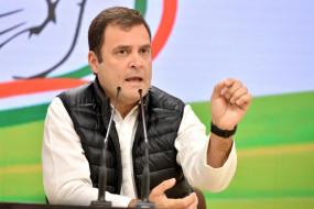 नेहरू ने समतावाद के मूल्यों के साथ भारत की नींव रखी : राहुल