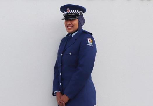 न्यूजीलैंड पुलिस ने वर्दी में हिजाब को शामिल किया
