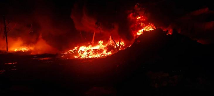 नोएडा : 24 घंटे में 13 जगह लगी आग, दौड़ती रहीं 20 दमकल गाड़ियां