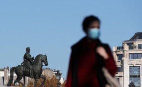 फ्रांस में दैनिक मौतों की संख्या 7 महीने के शिखर पर