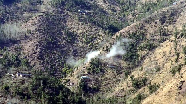 पाकिस्तान ने पुंछ में एलओसी के पास गोलीबारी की
