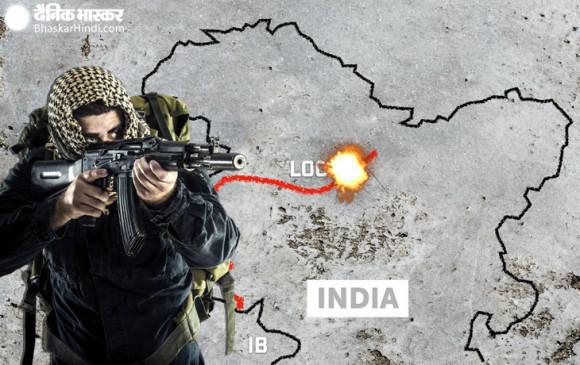 जम्मू-कश्मीर: राजौरी में LOC पर पाकिस्तान ने की फायरिंग, एक जवान शहीद