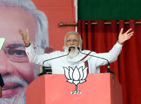 प्रधानमंत्री मोदी ने बिहार चुनाव में राममंदिर, पुलवामा, आरक्षण के मुददे पर विपक्ष को घेरा