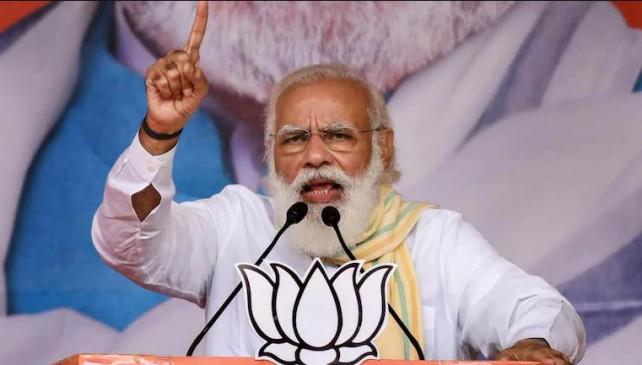 बिहार में PM का चौथा दौरा: PM मोदी ने कहा-रंगबाजी हार रही, विकास फिर से जीत रहा है