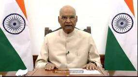 राष्ट्रपति ने दिवाली की पूर्व संध्या पर देशवासियों को शुभकामनाएं दी