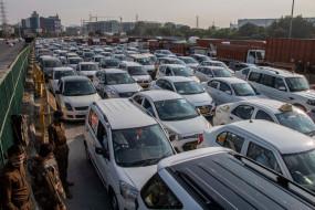 किसानों का विरोध प्रदर्शन : दिल्ली-गुरुग्राम सीमा पर लगा भारी जाम