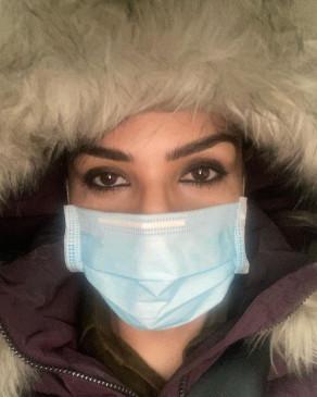 रवीना ने मनाली में नाइट कर्फ्यू के लिए तैयारी की