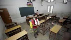 नागपुर मनपा ने किया स्कूलों का सैनिटाइजेशन