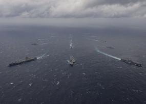 मालाबार नौसैनिक अभ्यास का दूसरा चरण मंगलवार से