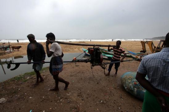 गंभीर चक्रवाती तूफान निवार मध्यरात्रि में तमिलनाडु-पुडुचेरी तटीय इलाकों में देगा दस्तक