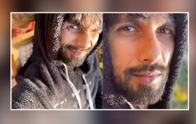 सर्दियों में धूप का आनंद लेते दिखे शाहिद कपूर
