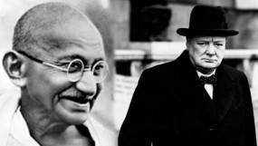 ब्रिटेन में गिराईं जा सकती हैं गांधी, चर्चिल की मूर्तियां