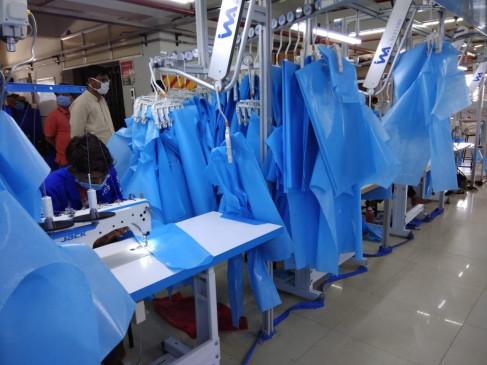 स्वदेशी ई-कॉमर्स कंपनी फ्लिपकार्ट ने यूपी सरकार को दिए 50 हजार पीपीई किट