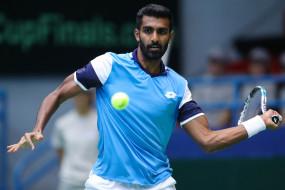 टेनिस : अटलांटिक टायर चैम्पियनशिप के क्वार्टर फाइनल में पहुंचे प्रजनेश