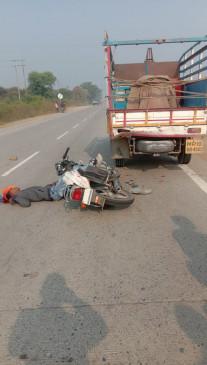 अलग-अलग चार सड़क हादसों में 2 की मौत, पांच घायल