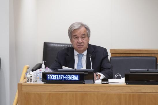 संयुक्त राष्ट्र प्रमुख ने जी20 से किया 28 अरब डॉलर के वित्तपोषण का आग्रह