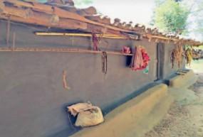 अनोखा गांव: भारत का एक ऐसा गांव, जहां काले रंग से ही रंगे जाते हैं घर; जानें क्या है वजह
