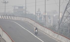 दिल्ली में प्रदूषण से विजिबिलिटी कम, लेकिन कांग्रेस कार्यकर्ताओं को बिहार में दिख रही जीत