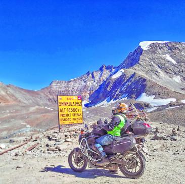अजब-गजब : 'शिंकुला से फुटाला' तक 3313 किमी का सफर 11 दिन में किया पूरा