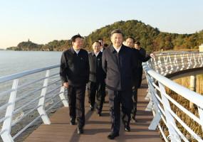 शी चिनफिंग ने च्यांगसू प्रांत का निरीक्षण दौरा किया