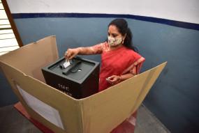 हैदराबाद में दोपहर 1 बजे तक 18.20 फीसदी मतदान