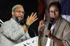 असदुद्दीन ओवैसी का पलटवार, कहा- मुस्लिम वोटर ममता बनर्जी की जागीर नहीं