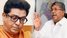 चंद्रकांत पाटील ने राज को दी मनसे की ताकत बढ़ाने की सलाह
