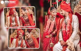 Wedding: टीम इंडिया के स्टार स्पिनर युजवेंद्र चहल ने धनश्री संग रचाई शादी, देखें तस्वीरें