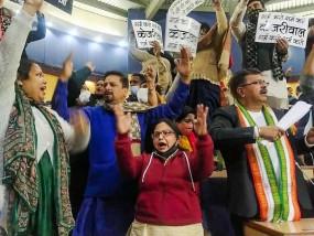 दिल्ली: पूर्वी नगर निगम की बैठक में हंगामा, AAP और BJP पार्षदों के बीच जमकर चले जूते-चप्पल, नेता विपक्ष 15 दिन के लिए सस्पेंड