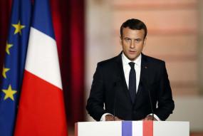 फ्रांस के राष्ट्रपति इमैन्युअल मैक्रों कोरोना पॉजिटिव, खुद को किया क्वारंटाइन