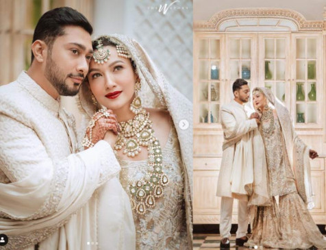 गौहर खान ने किया निकाह, फोटो शेयर करते हुए लिखा- 'कबूल है', देखें Wedding Pics