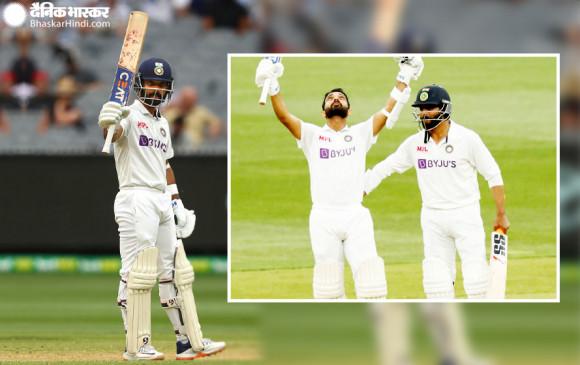 IND vs AUS, 2nd Test: रहाणे ने जड़ा शतक, जडेजा के साथ 100+ रन की पार्टनरशिप, भारत को 82 रन की बढ़त