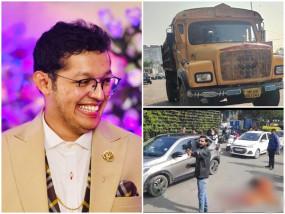 इंदौर: 4 दिन बाद थी युवक की पहली शादी की सालगिरह, गाड़ी टकराने पर हुए विवाद में डंपर के सामने धकेला, मौत