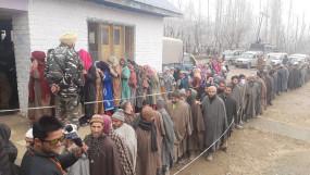 जम्मू-कश्मीर डीडीसी चुनाव : चौथे चरण में 6 घंटों में 41.94 फीसदी मतदान (लीड-2)