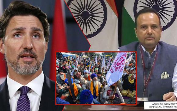 Farmers Protest: कनाडाई पीएम जस्टिन ट्रूडो का किसान आंदोलन पर कमेंट, भारत ने बताया गैरजरूरी