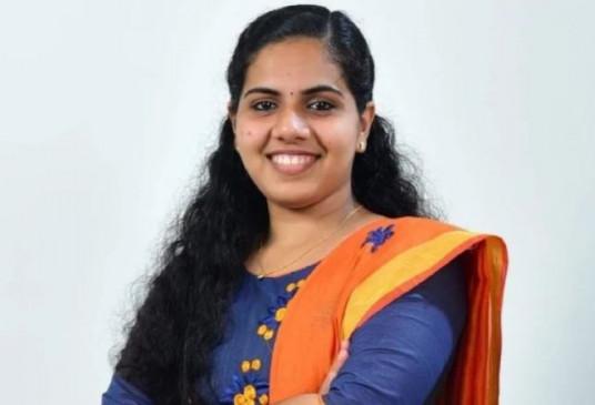 केरल: 21 साल की आर्या बनेंगी देश की सबसे युवा मेयर, संभालेंगी तिरुअनंतपुरम का चार्ज