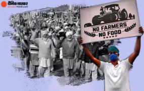 Farmers Protest: दिल्ली के सभी नाकों पर आज किसानों का अनशन, देशभर के जिलों में भी भूख हड़ताल, कल करेंगे हाईवे जाम