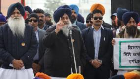 किसान आंदोलन: सुखबीर सिंह बादल ने भाजपा पर देश को तोड़ने का आरोप लगाया, कहा- देश में बीजेपी है असली टुकड़े-टुकड़े गैंग
