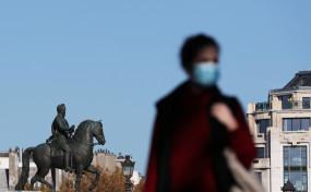 फ्रांस में कोविड-19 मामले और अस्पताल में भर्ती मरीजों की संख्या में कमी