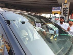 गाजीपुर बॉर्डर से भाकियू के नेता सिंघु बॉर्डर रवाना, बैठक में लेंगे हिस्सा
