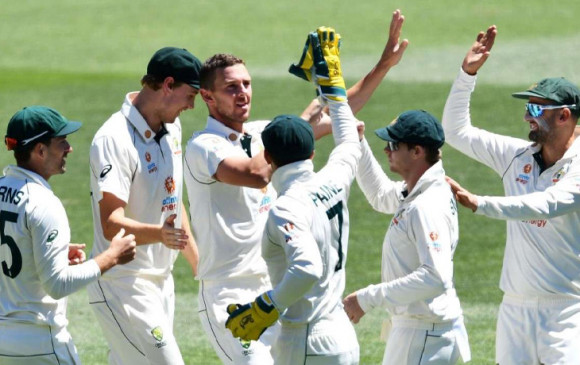 IND vs AUS: 36 रन पर सिमटी भारतीय  टीम, दहाई का अंक भी नहीं छू सका कोई खिलाड़ी , आस्ट्रेलिया को  90 रन का टारगेट