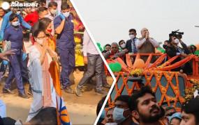 VIP रोड शो VS पदयात्रा: शाह की रैली वाली जगह ममता ने की पदयात्रा, बोलीं- गांधी का सम्मान न करने वाले 'सोनार बांग्ला' बनाने की बात कर रहे