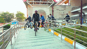 नागपुर शहर के कदम तेज , स्मार्ट सिटी के कई आयामों की गति बढ़ी
